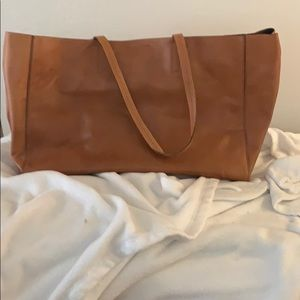 Banana Republic Leather Tote Bag